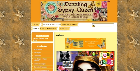 Bohemian, African,& Ibiza jewelry - online winkelen - www.dazzlinggypsyqueen.com-webshop - DUTCH