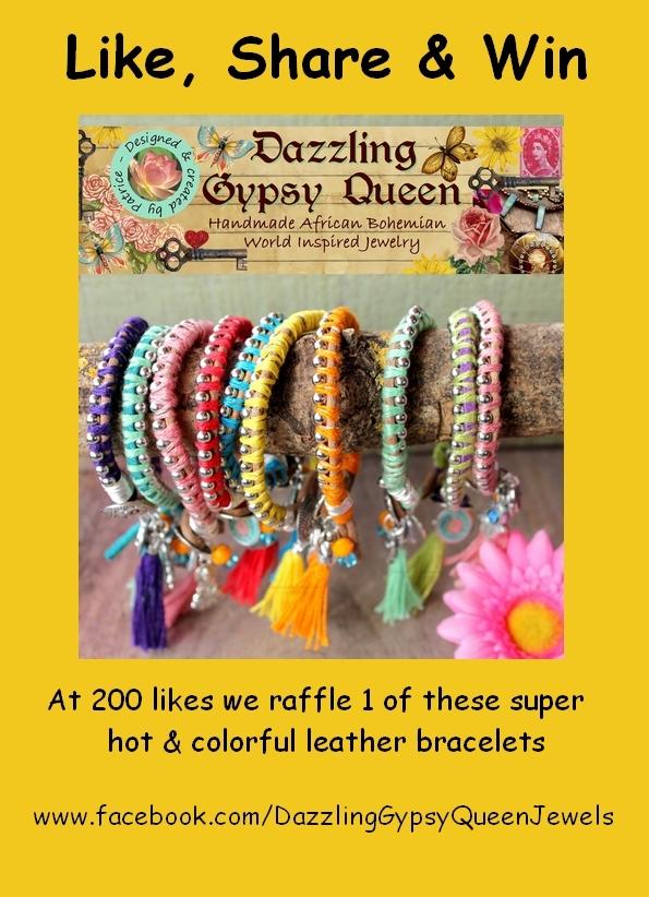 Like, Share & Win Dazzling Gypsy Queen @ Facebook