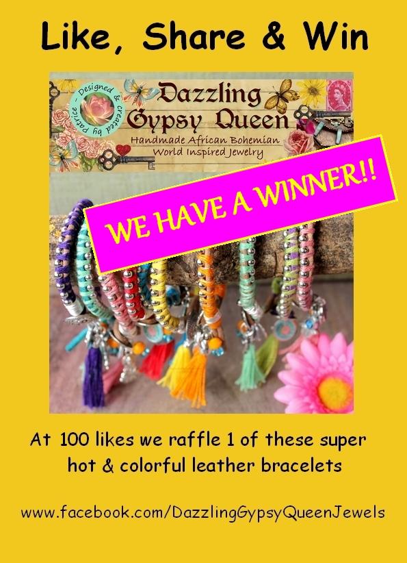 Like, Share & Win Dazzling Gypsy Queen @ Facebook - 100 likes WINNER