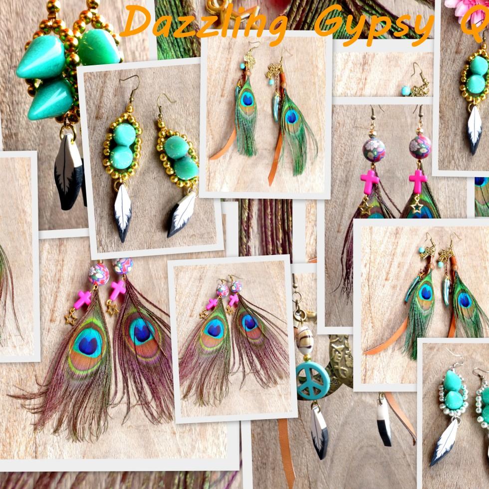Dazzling Gypsy Queen - Earrings