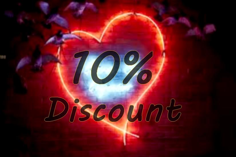 10 % discount at Dazzling Gypsy Queen