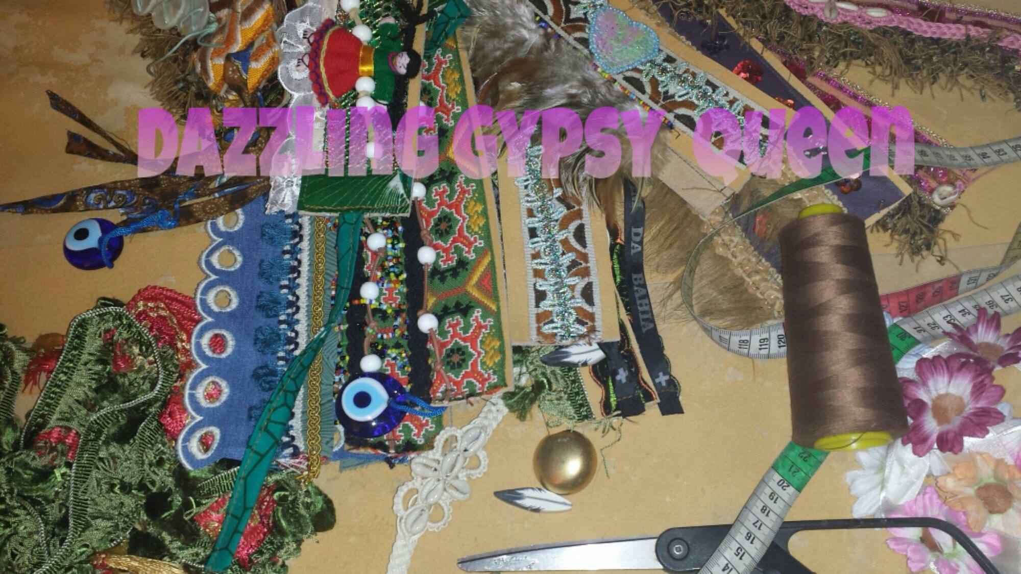 The making of Dazzling Gypsy Queen Ibiza Bootbelts