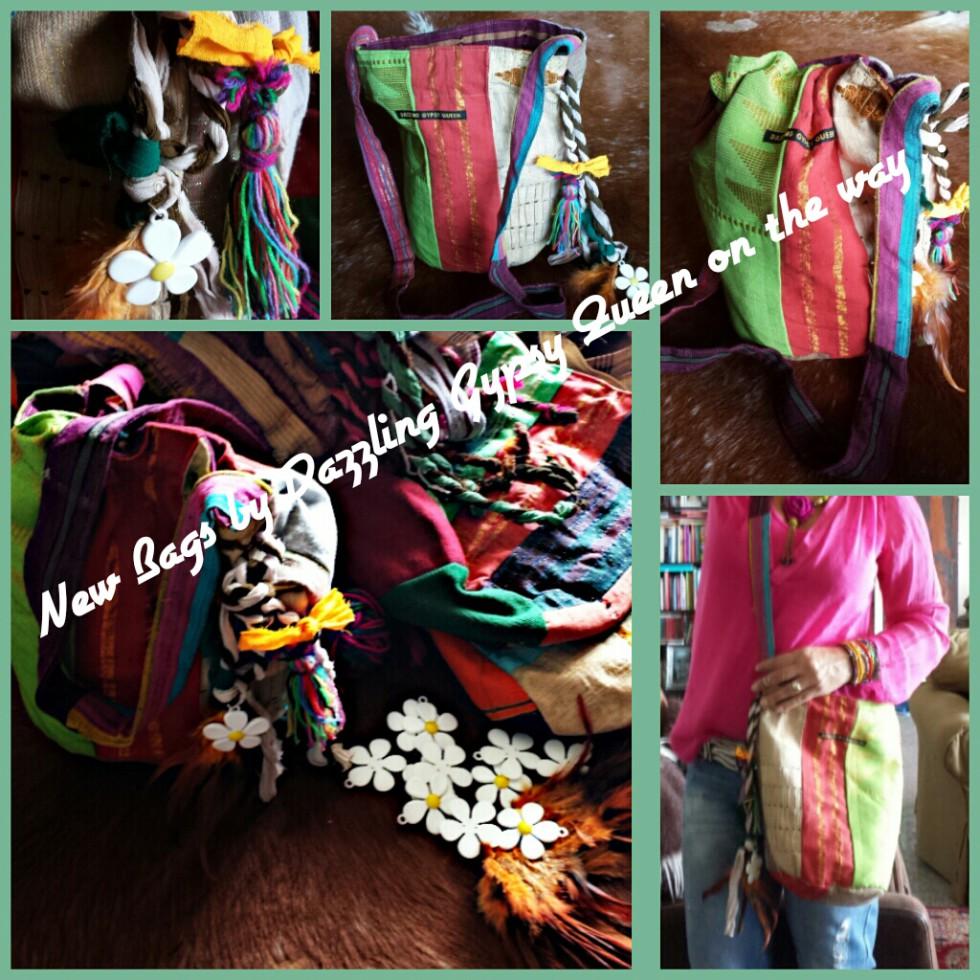 Gypsy Ibiza Drawstring bags by DazzlingGypsyQueen