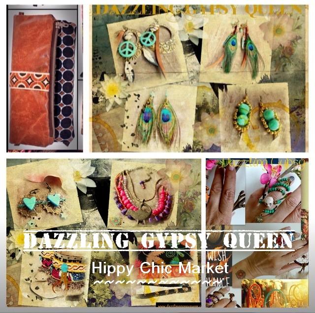 Dazzling Gypsy Queen @ Hippy Chic Market 7 maart