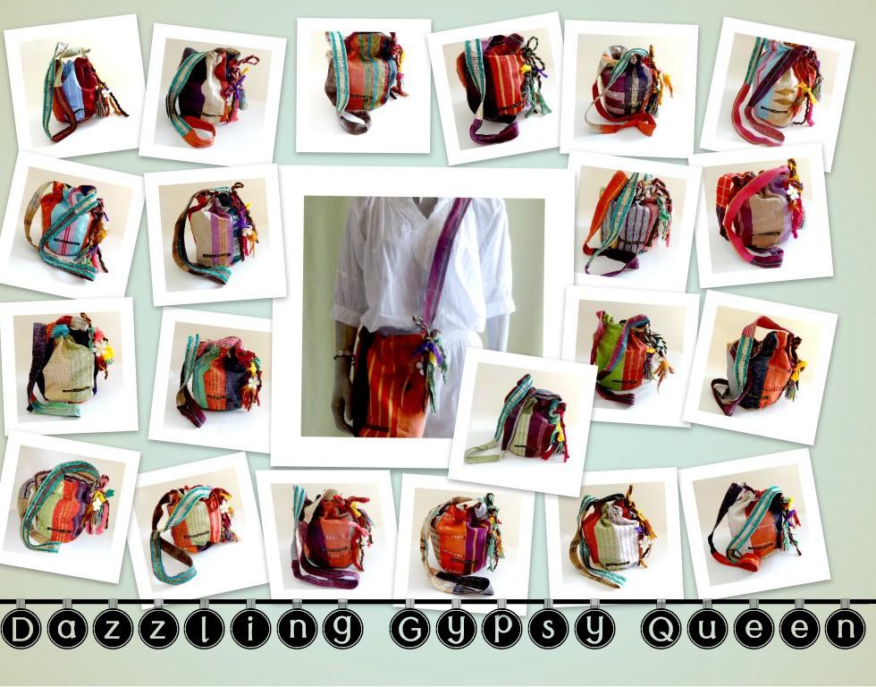 Gypsy Ibiza drawstring bags - Dazzling Gypsy Queen