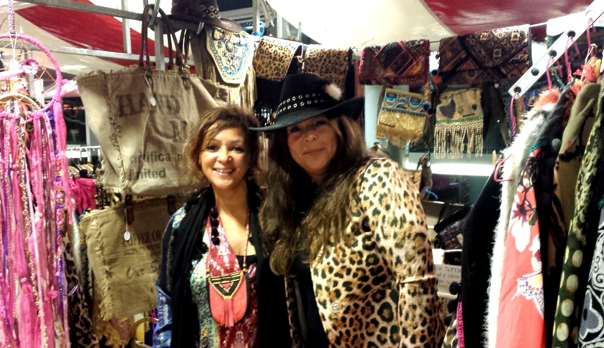 Happy Customer with Black Dazzling Gypsy Queen Cowboy hat
