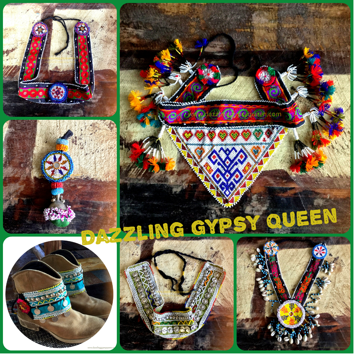 Tribal Kuchi stuff by Dazzling Gypsy Queen