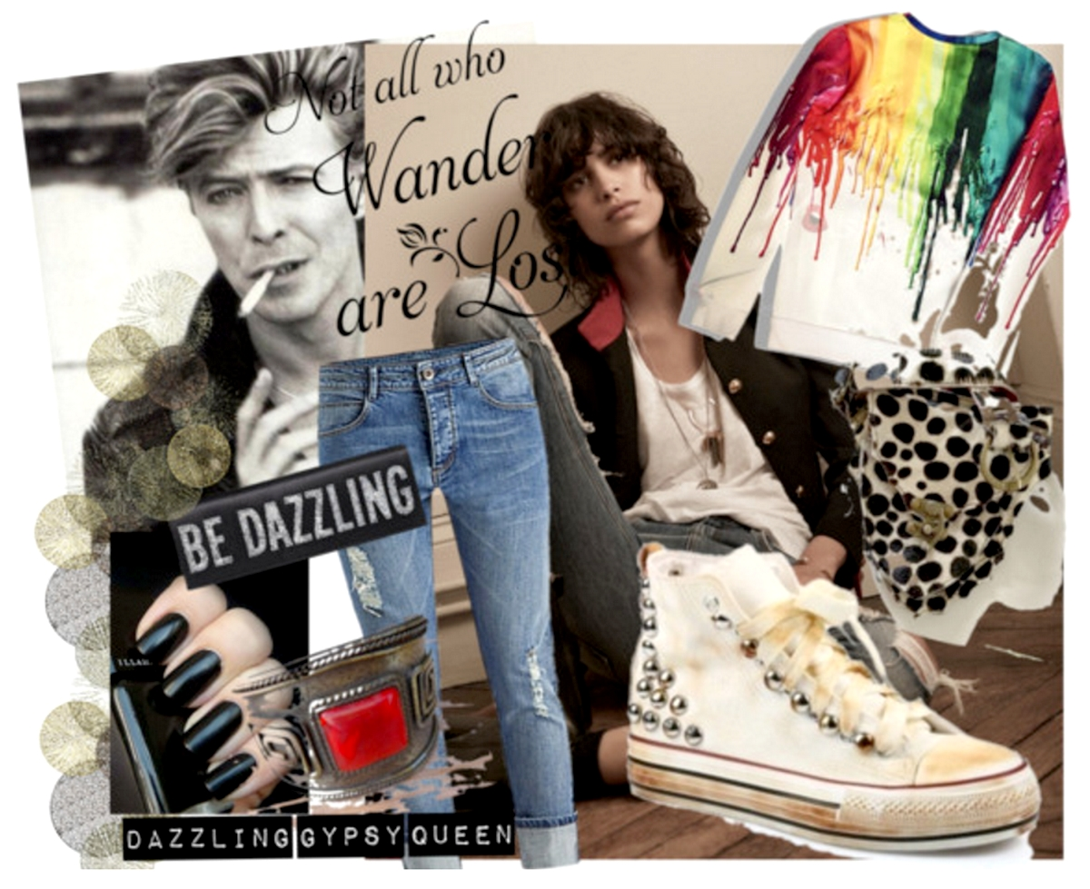 How to wear these vintage Gypsy sneakers- at www.Dazzlinggypsyqueen.com